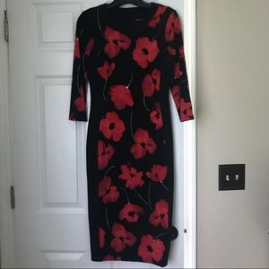 Maggy London form fitting business dress